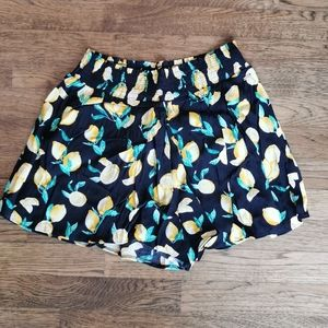 Pink Victoria's Secret Lemon Print Shorts XS NWT…